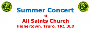 Summer Concert suporting Truro Lifehouse : 17 Aug, Truro