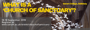 What is a 'church of sanctuary'? : 18-19 Sep, Salisbury