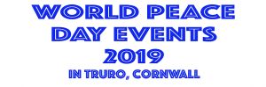 World Peace Day Events : 20-22 Sep, Truro