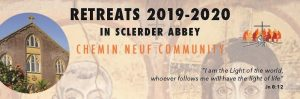 Retreats at Sclerder Abbey 2019-20