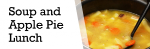 Soup and Apple Pie Lunch in aid of Live Nativity : 30 Oct, Falmouth