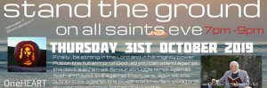 Stand the Ground on All Saints Eve : 31 Oct, Marazion