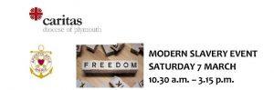 Modern Slavery Event : 7 Mar, Plymouth