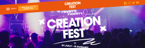 Creation Fest 2021 : 31 Jul-6 Aug 2021, Wadebridge