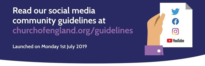 Church of England launches Social Media Guidelines