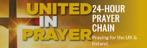 United in Prayer : 24-hr Prayer Chain :  Apr-Jun, ONLINE