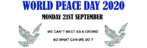 World Peace Day : 21 Sep, AT HOME