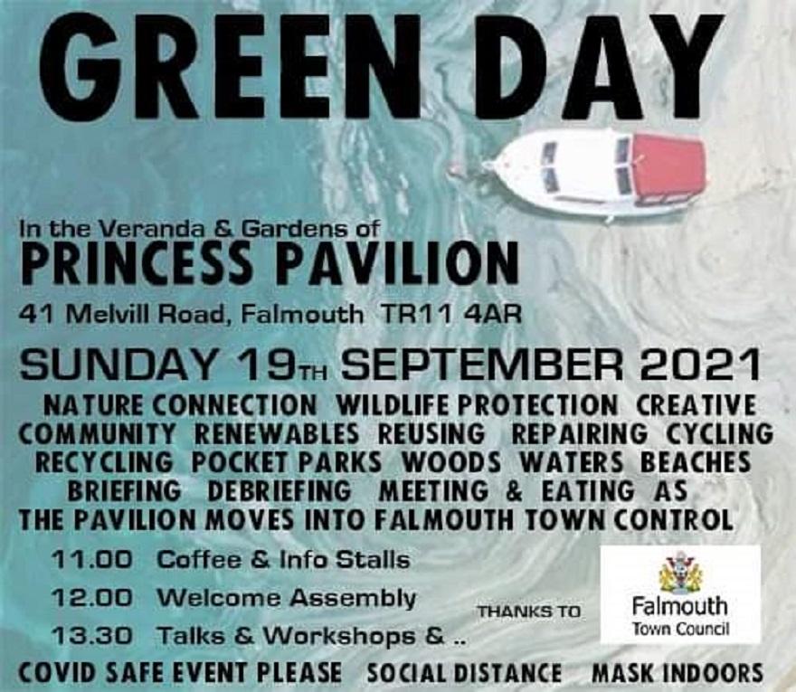 Green Day : Falmouth, 19 Sep